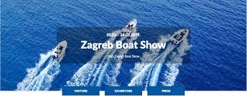 Zagreb Boat Show  20.02. – 24.02.2019.r